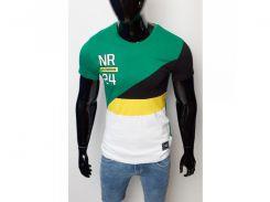 Футболка NR 1127 зеленая