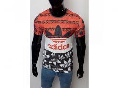 Футболка Adidas 15858 красная