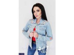 Куртка женская  джинсовая AR-3023