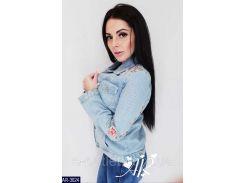 Куртка женская джинсовая  AR-3024