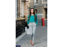Женские классические брюки AJ-6232 серый