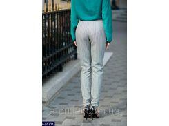 Женские классические брюки AJ-6233 серый