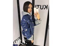 Куртка женская джинсовая  AJ-7866