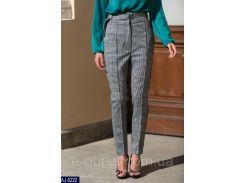 Женские классические брюки AJ-6222 серый