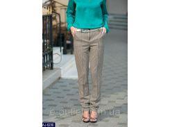 Женские классические брюки AJ-6230  бежевый