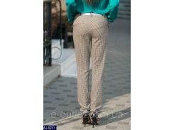 Женские классические брюки AJ-6231 бежевый