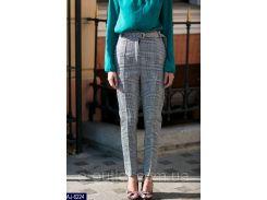 Женские классические брюкиAJ-6224 серый