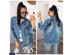 Куртка женская джинсовая V-6130
