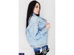 Куртка женская  джинсовая AR-3027