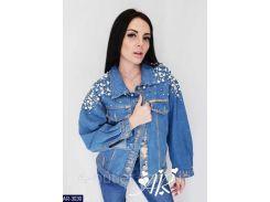 Куртка женская  джинсовая AR-3030