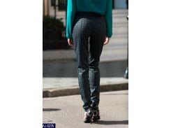 Женские классические брюки AJ-6235 клетка