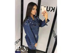 Куртка женская джинсовая AJ-7870