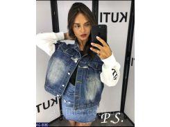Куртка женская  джинсовая AG-0080