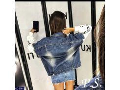 Куртка женская  джинсовая AG-0081