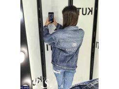 Куртка женская джинсовая AG-8409
