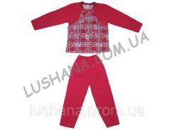 Тёплая пижама Болеро на рост 104-110 см - Начёс