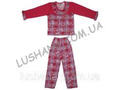 Пижама Снежок на рост 104-110 см - Начёс