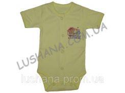 Бодик - футболка Мишка на рост 56-62 см - Интерлок