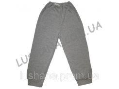 Тёплые штаны на манжете на рост 128-134 см - Начёс