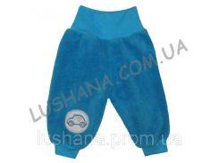 Махровые штаники Евро с вышивкой на рост 50-56 см - Вельсофт