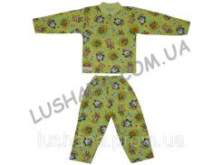 Пижама Пуговки на рост 80-86 см - Кулир