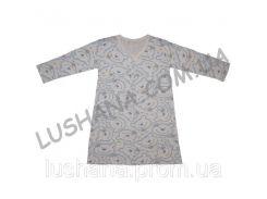 Ночная рубашка Уголок на рост 92-104 см - Кулир