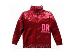 Кофта для девочки на флисе DR на рост 122-128 см