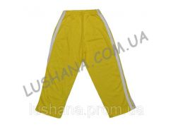 Однотонные штаны с лампасами на рост 98-104 см - Кулир