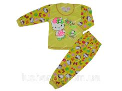 Пижама для девочки Китти на рост 80-86 см