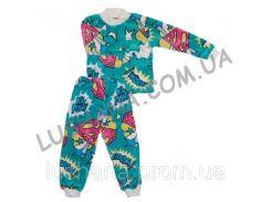 Махровая пижама Звезда на рост 98-104 см - Вельсофт