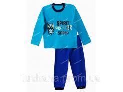 Детская пижама Скорость на рост 116-122 см