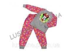Пижама для девочки Реглан на рост 134-140 см - Начёс