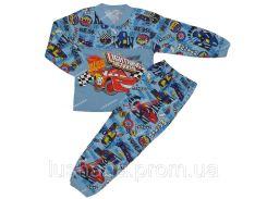 Пижама для мальчика Тачки на рост 92-98 см