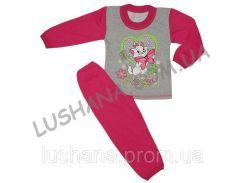 Комбинированная пижама Шик на рост 86-92 см - Начёс