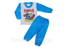 Комбинированная пижама Шик на рост 98-104 см - Начёс