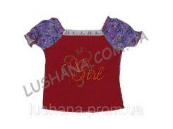 Блуза - топ Весна на рост 92-98 см - Интерлок
