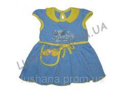 Платье Ангелочек на рост 68-74 см - Кулир