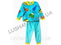 Махровая пижама Счастливчик на рост 128-134 см - Вельсофт
