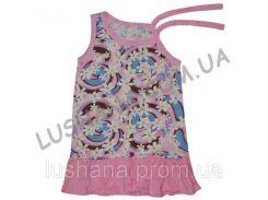 Платье Азалия на рост 92-98 см - Кулир