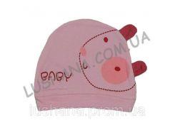 Трикотажная шапочка Мышка на 3-9 месяцев