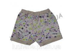 Короткие шорты на рост 92-98 см - Интерлок