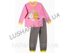 Детская пижама Котята на рост 104-110 см - Начёс