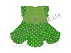 Платье Софья на рост 74-80 см - Кулир