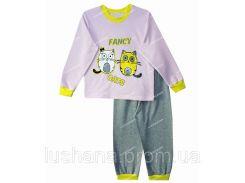 Детская пижама Котята на рост 92-98 см - Начёс