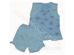 Піжама для дівчинки на зріст 80-86 см