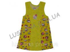 Платье для девочки Каролина на рост 92-104 см - Кулир