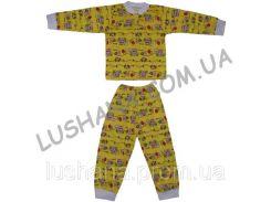 Пижама на манжете на рост 104-116 см - Кулир