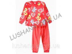 Махровая пижама Счастливчик на рост 116-122 см - Вельсофт