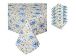 Набор подарочный скатерть и 6 салфеток Луговые цветы ТМ Прованс by Andre Tan