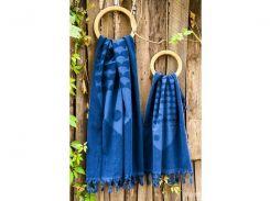 Полотенце Barine - Fish lacivert синий 90*160